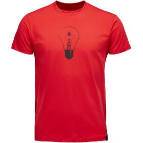 Black Diamond Idea Bluzka z krótkim rękawem Mężczyźni czerwony